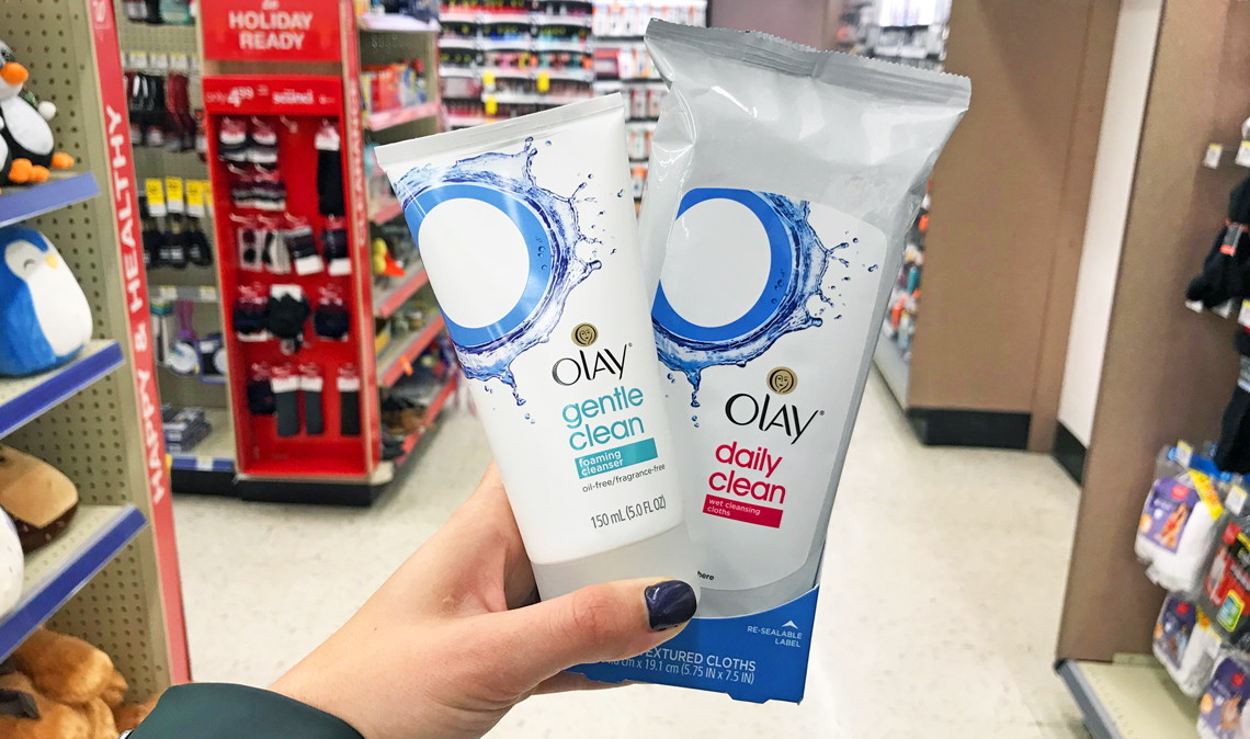 Olay Facial Cleansers Only 266 At Walgreens The Krazy Coupon Lady