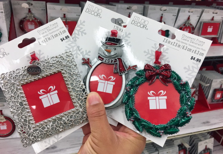 buy 1 frame ornament reg 149 499 089 333 sale price through 1111 free shipping on order of 4900 or more through 1111 - Michaels Christmas Ornaments