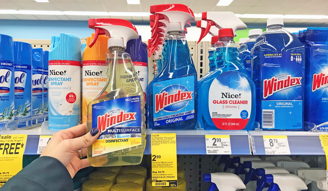 Windex Shout Amp Scrubbing Bubbles Only 0 24 At Walgreens