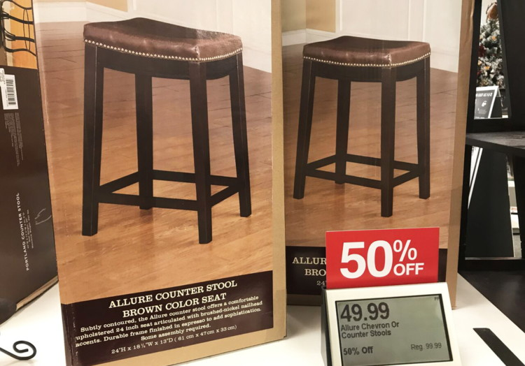 Miraculous Linon Allure Counter Stools Only 42 49 Each 15 Kohls Gmtry Best Dining Table And Chair Ideas Images Gmtryco