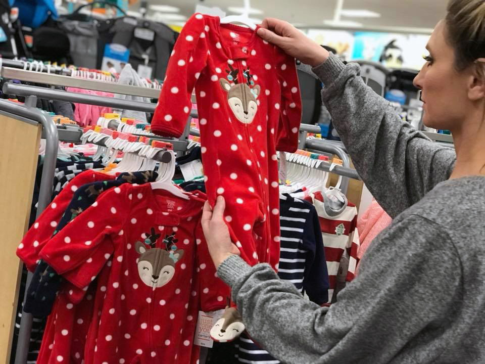Last Chance Black Friday Deal – Baby Pajamas, Only $4.75 at Target!