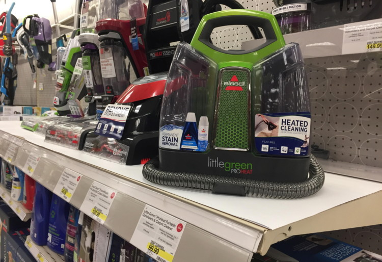 Bissell Little Green Carpet & Upholstery Cleaner, Only $47 49 at