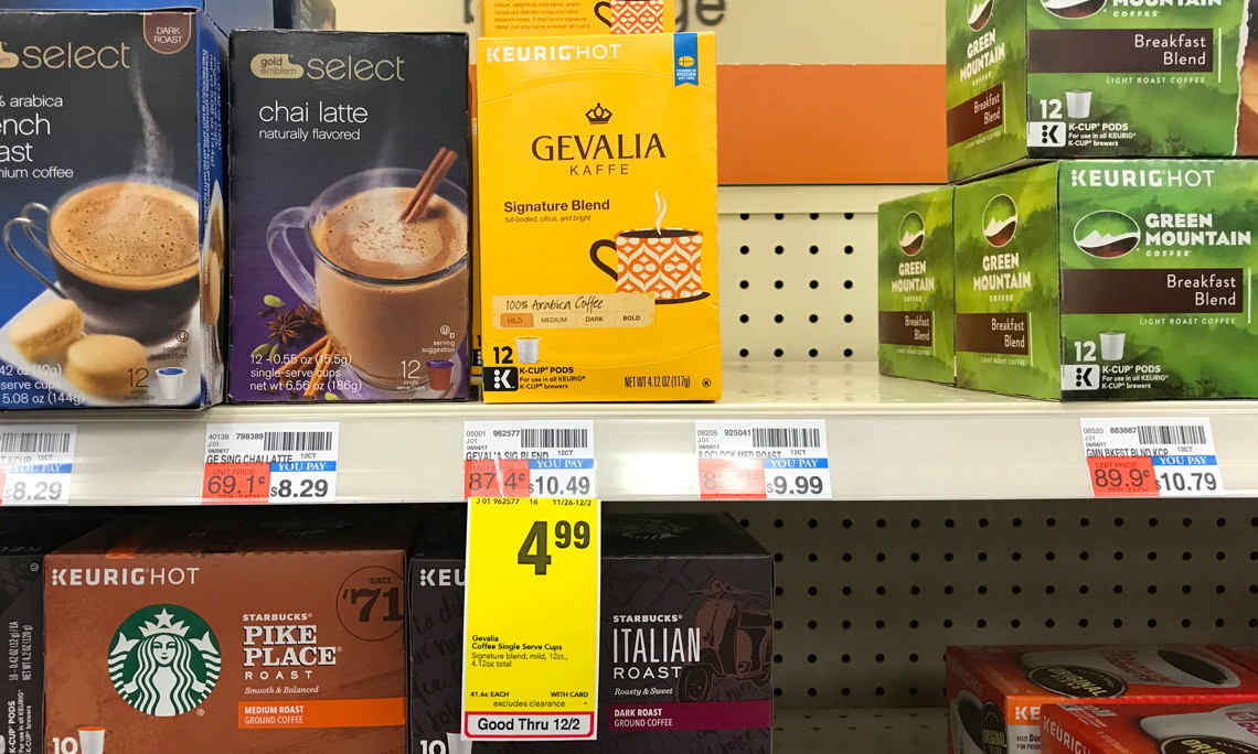 McCafe, Gevalia or Maxwell House K-Cups, Only $3.99 at CVS!