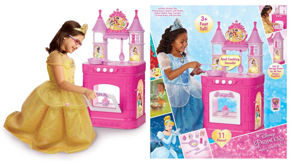 Disney Princess Magical Play Kitchen, Only $26.97 at Walmart ...