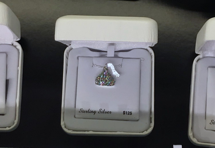 Hershey's Kiss Pendant Necklaces, Only $31.87 at Kohl's – Reg. $125.00!