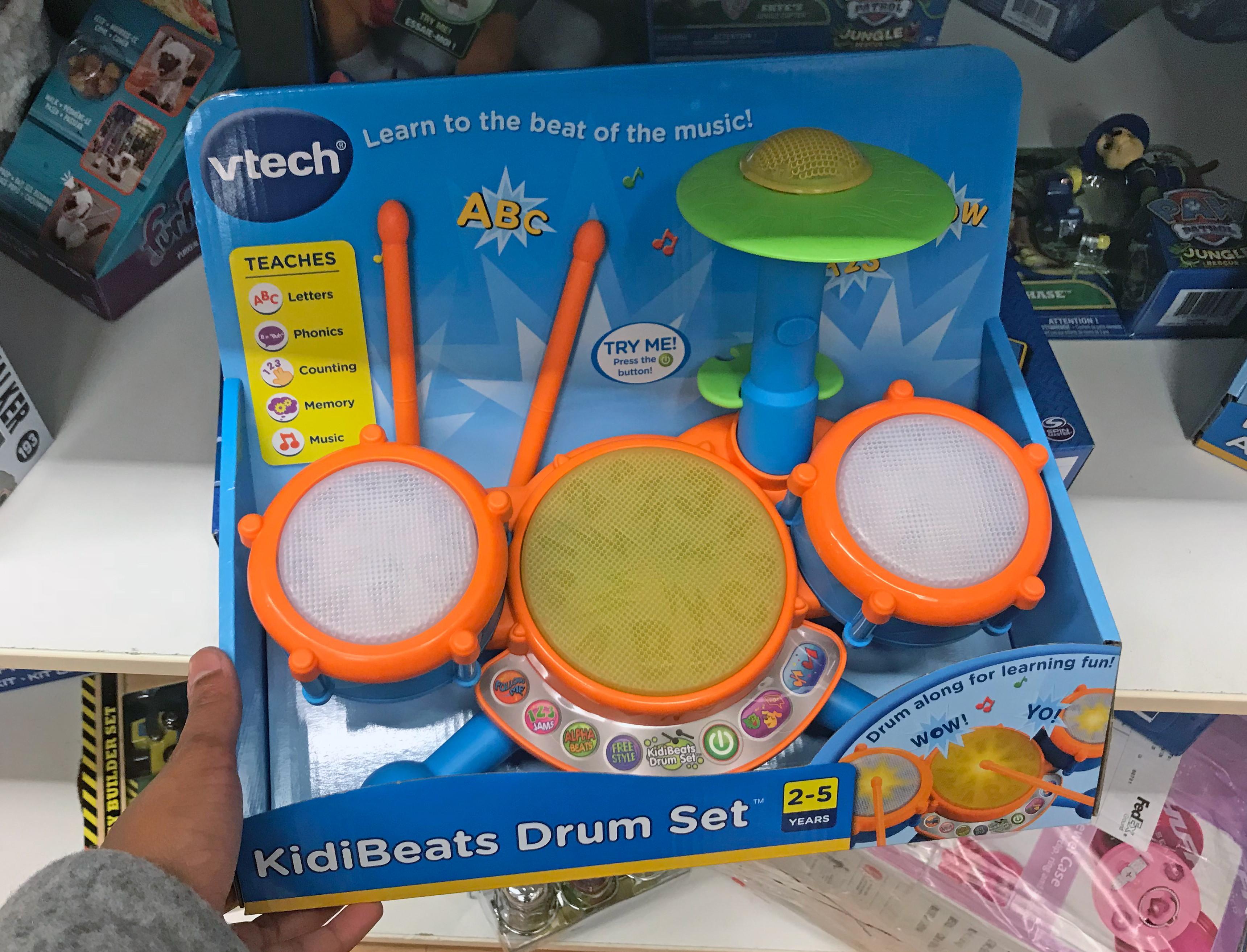 Vtech Kidibeats Drum Set Or Zoo Jamz Guitar Only 14 07 At Kohl S