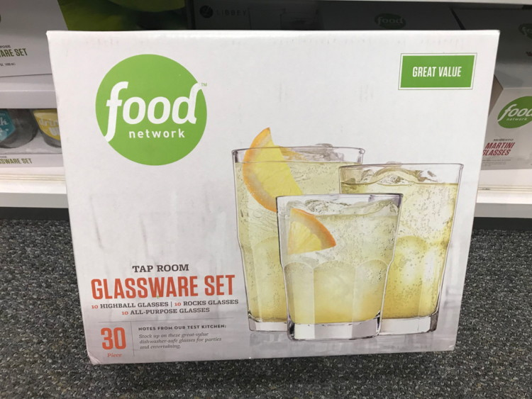 Food Network 30 Pc Glware Sets 16 99 At Kohl S Reg 49