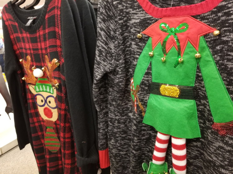 Kohl Ugly Christmas Sweaters.Juniors Ugly Christmas Sweaters Only 14 99 At Kohl S