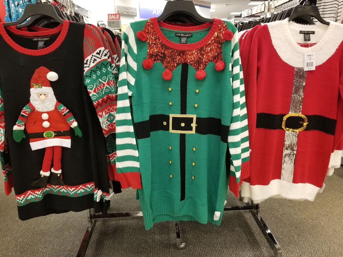 Womens Ugly Christmas Sweaters Only 1999 At Kohls The Krazy