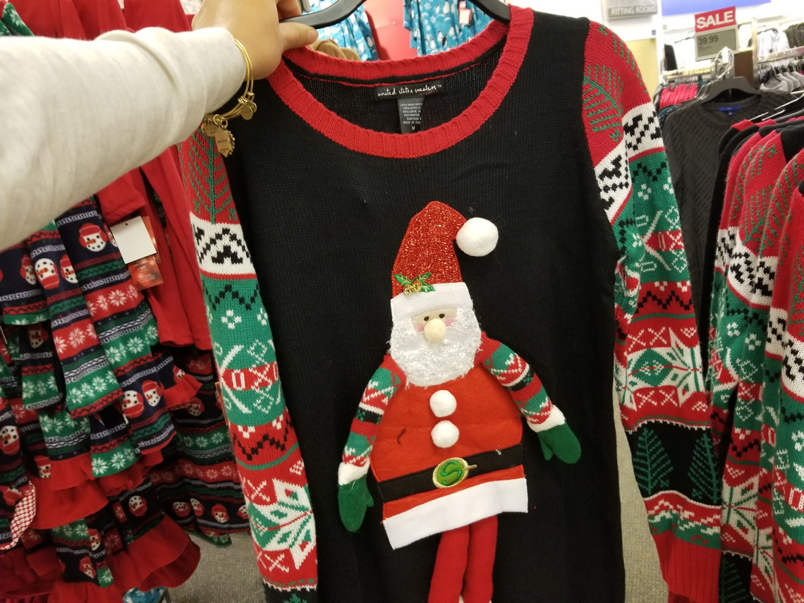 Juniors Ugly Christmas Sweaters Only 1499 At Kohls Reg