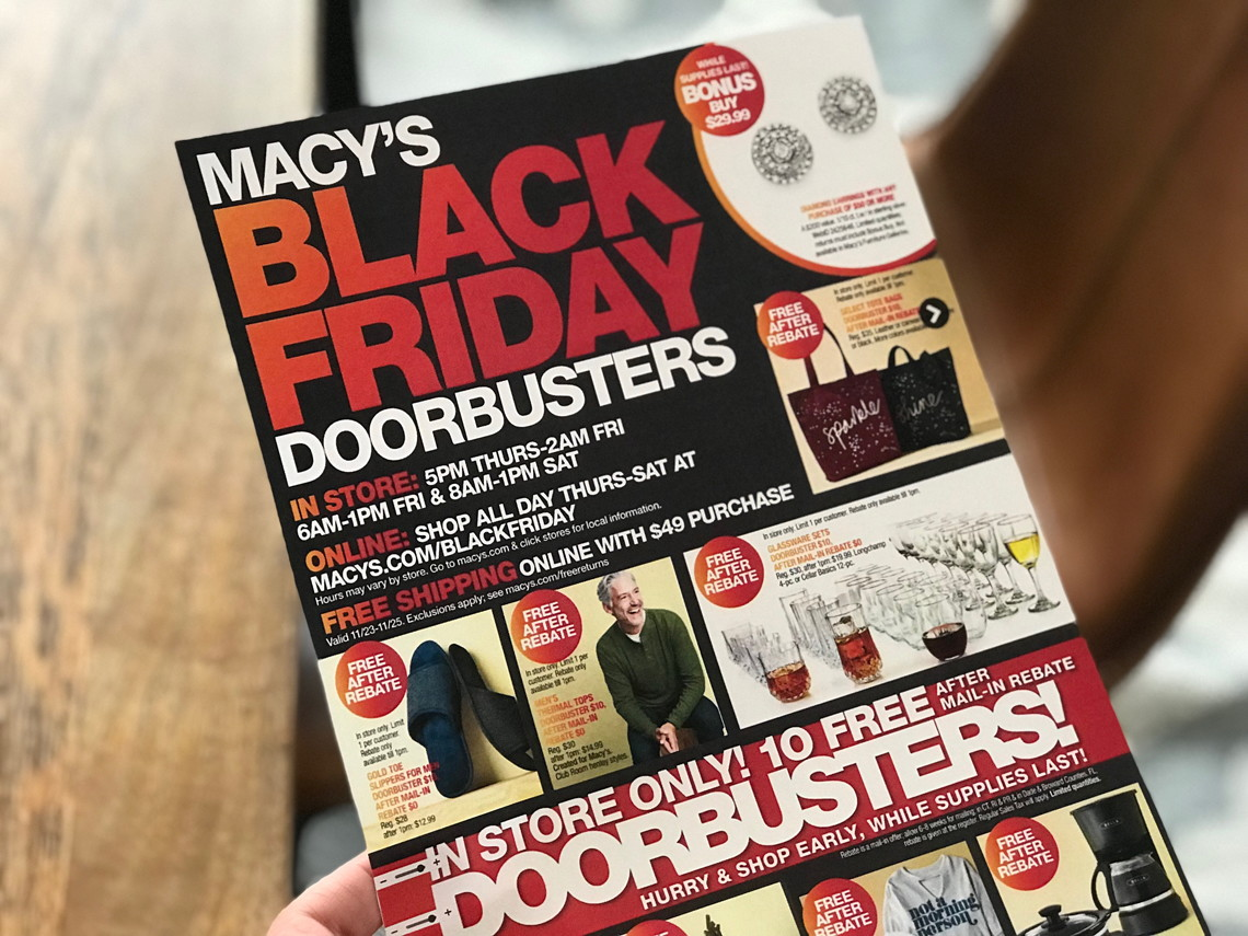 Top 20 Macy's Black Friday Deals for 2017! - The Krazy Coupon Lady