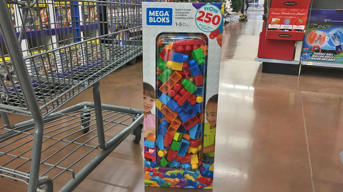 Mega Bloks 250-Piece Set, Only $20.00 at Walmart!