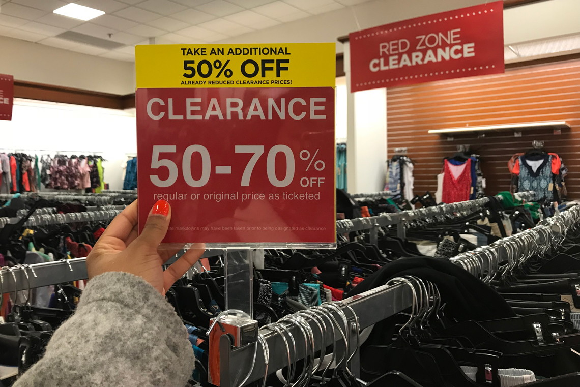 4a4fd93befe In-Store Only  Extra 50% Off Clearance at JCPenney! - The Krazy Coupon Lady