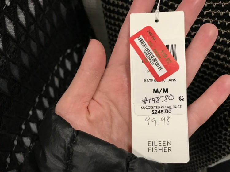 e5c85487a The price on the Rack's red sticker trumps any handwritten price. (Even  when the handwritten price is lower!)