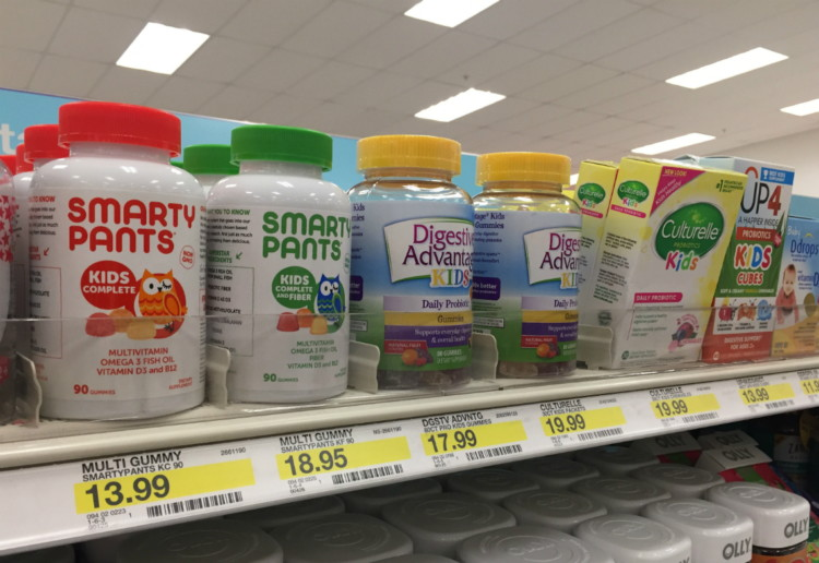 SmartyPants Complete Vitamins, Save up to 70% at Target!