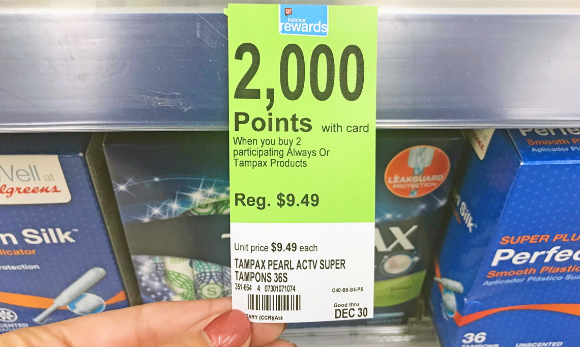 image regarding Tampax Coupons Printable called Tampax Occupied Tampons Substantial Packing containers, as Reduced as $1.95 at
