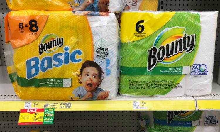 Bounty Paper Towels, Only $2.95 at Dollar General!