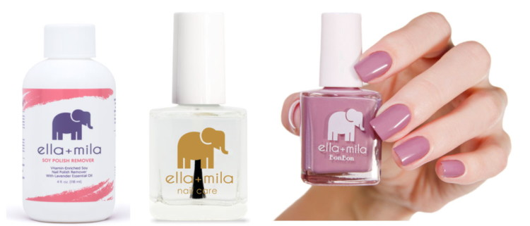 Kcl Exclusive Save 20 On Ella Mila Nail Polishes Lip Products