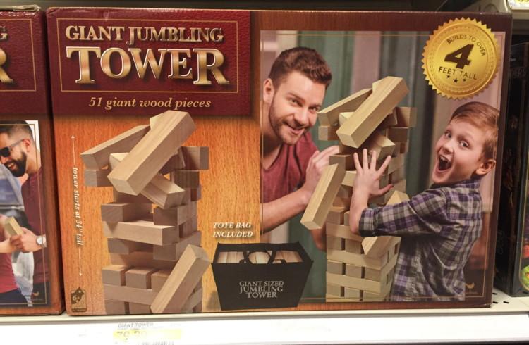 Giant Tumbling Tower Board Game, Just $38.00 at Target – Reg. $79.99!