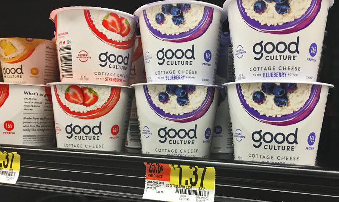 Better Than Free Good Culture Cottage Cheese At Walmart