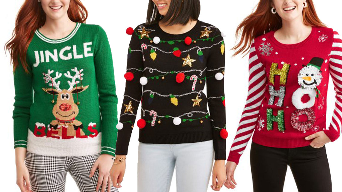 0 - Christmas Sweaters Walmart