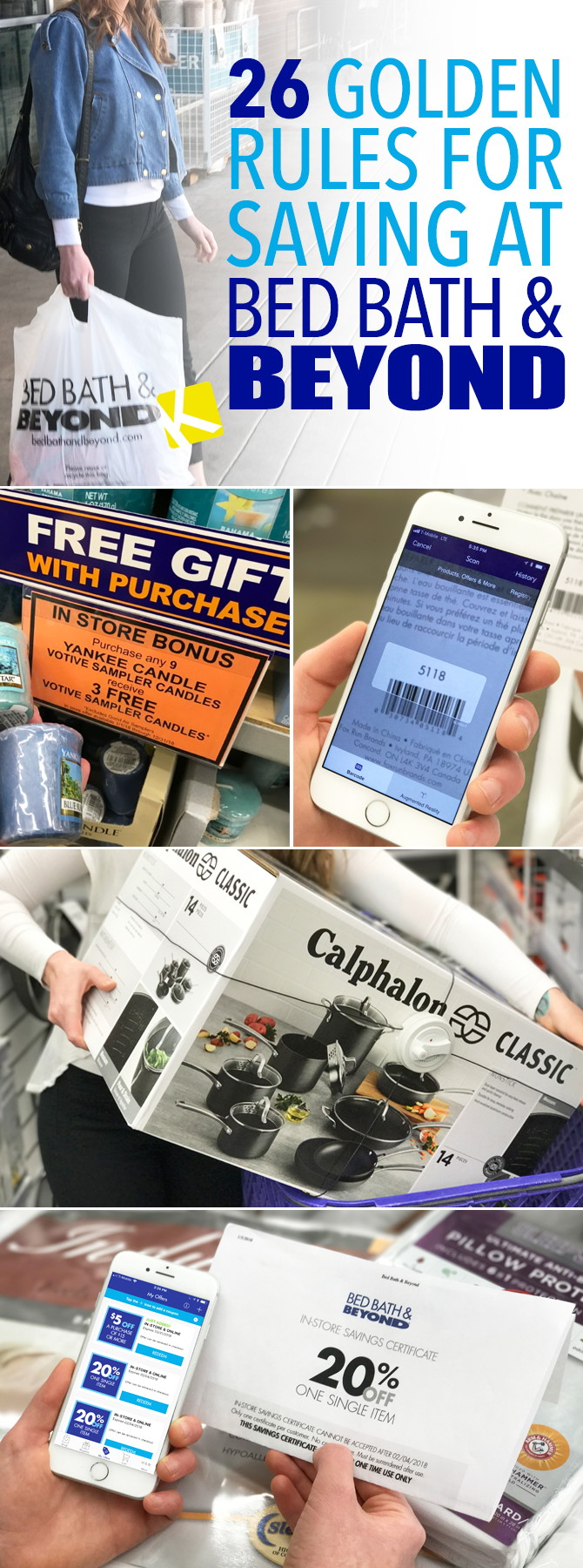 26 Golden Rules You Must Follow to Save at Bed Bath   Beyond - The ... 519599b9d5734