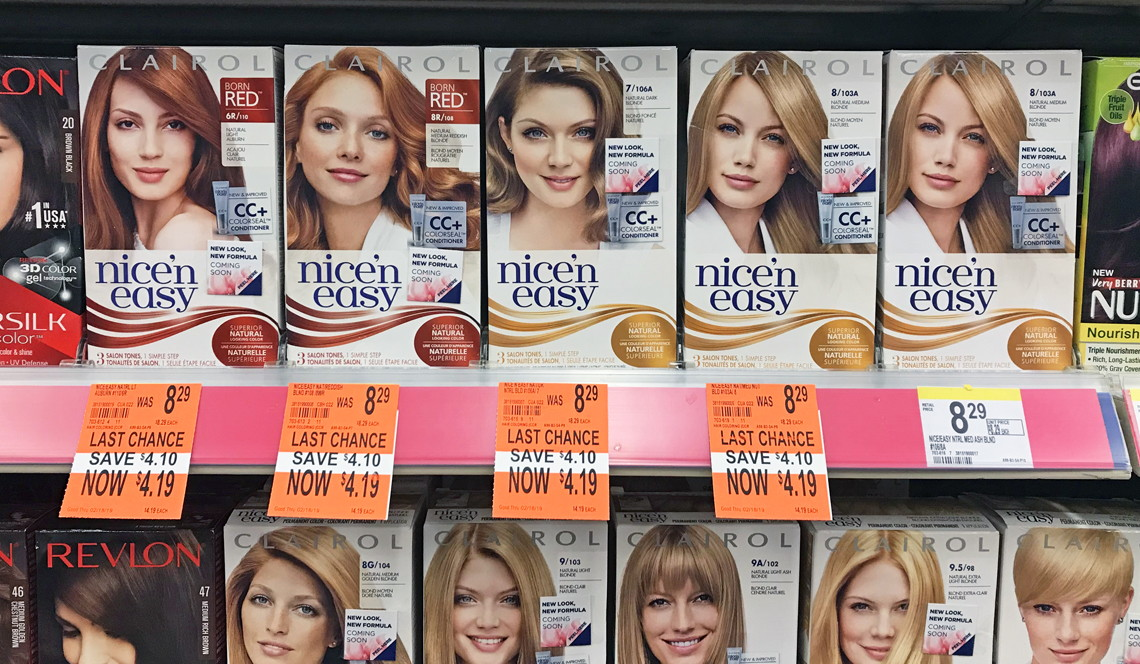 Clairol Nice N Easy Hair Color Only 169 At Walgreens