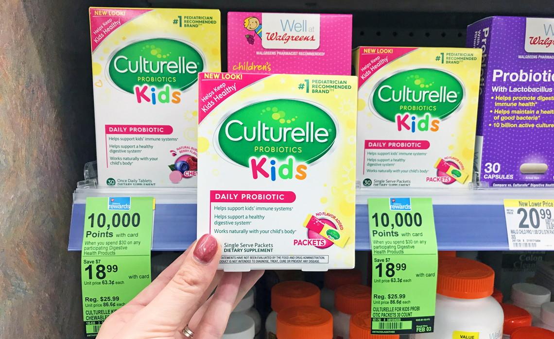 graphic relating to Prilosec Printable Coupon called Culturelle Prilosec OTC, as Minimal as $6.99 at Walgreens