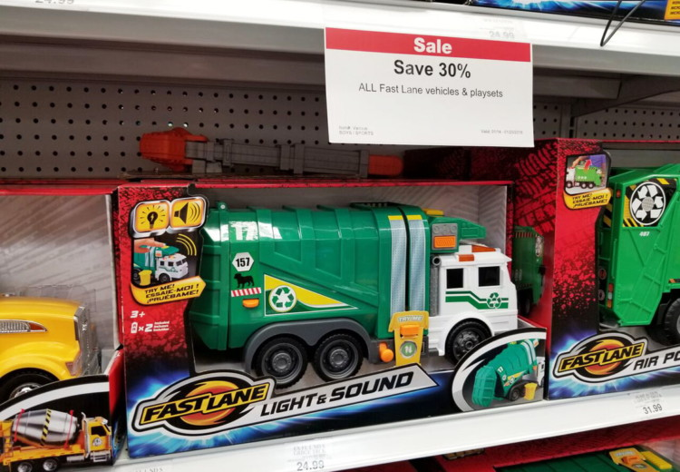 30 Off Toys R Us Exclusive Toys Drum Set Amp Garbage Truck