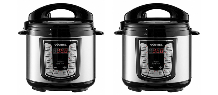 Gourmia 4 Quart Pressure Cooker Only 50 Shipped At Best Buy Reg