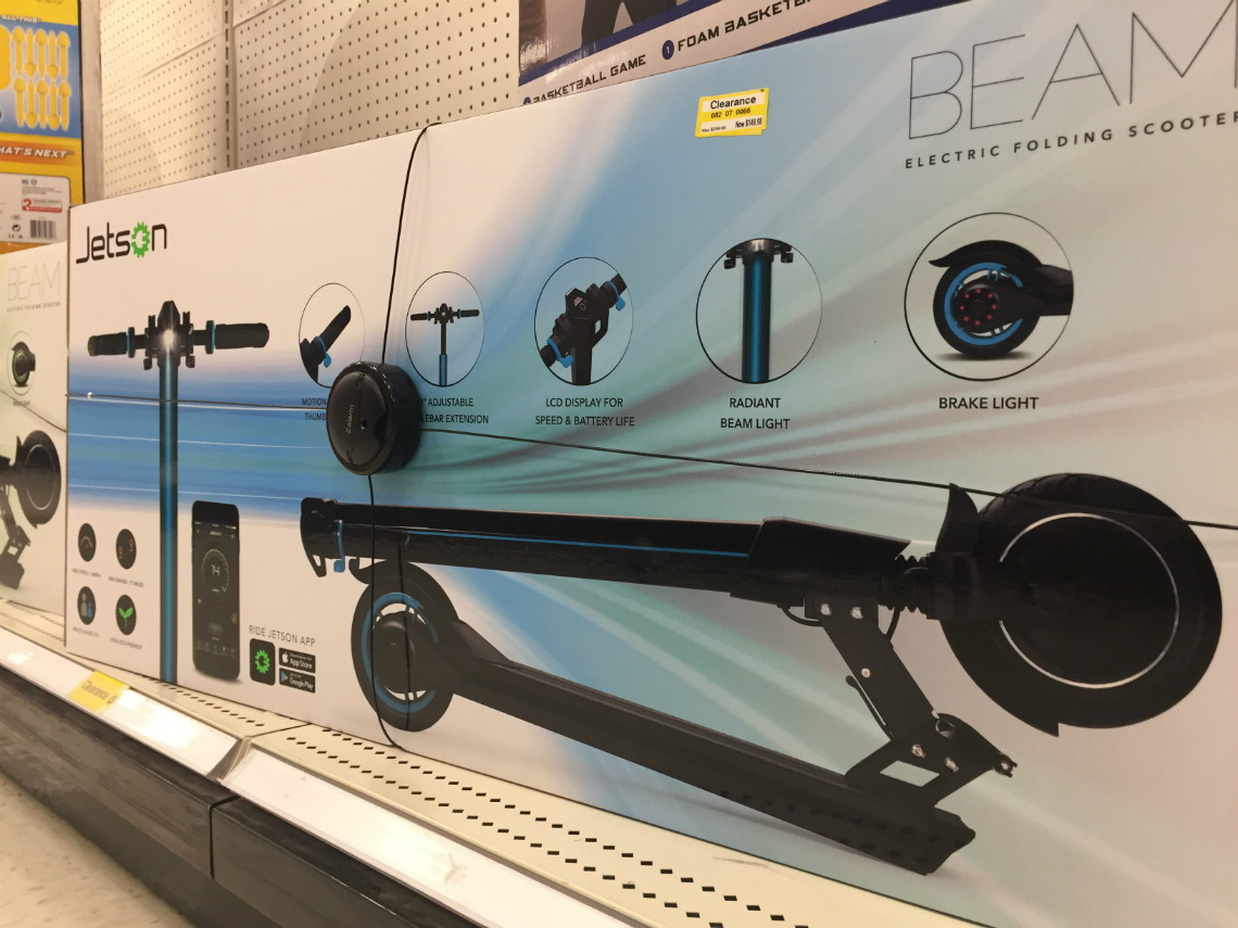 Jetson Beam Electric Scooter New Images Beam