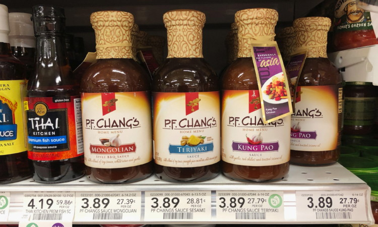 photo regarding Pf Changs Printable Coupon named P.F. Changs Dwelling Menu Sauce, Merely $0.39 at Publix! - The