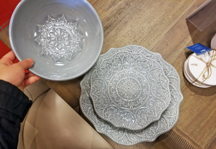Buy 1 Chateau Clair Scalloped Gray Dinnerware (reg. $7.95-$8.95) $6.36-$7.16 clearance price. Free store pickup or use code FREESHIP49 for free shipping on ... & Pier 1 Imports Clearance: Savings up to 60% Off! - The Krazy Coupon Lady
