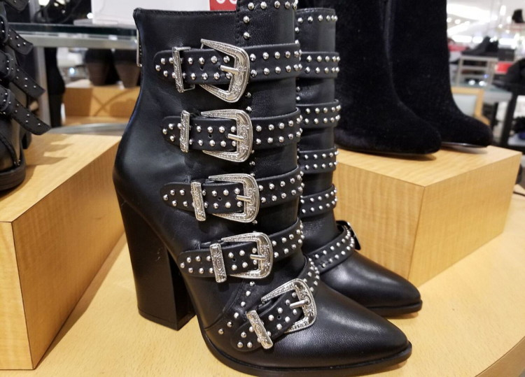 4bf3f2aed Buy 1 Steve Madden Comet Studded Western Booties ( reg.  189.00 )  129.99. Free  shipping on orders of  49.00 or more through 1 11