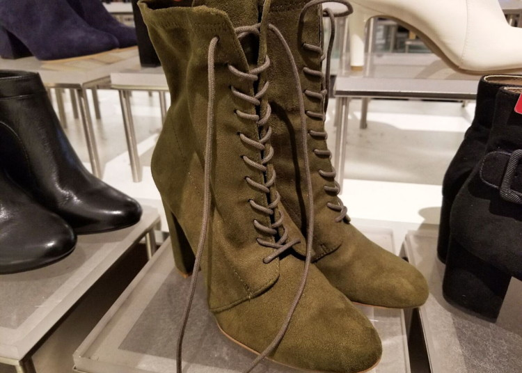 f3d5cb73b Buy 1 Steve Madden Women s Elley Lace-Up Block Heel Booties ( reg.  99.00 )   79.99. Free shipping on orders of  49.00 or more through 1 11