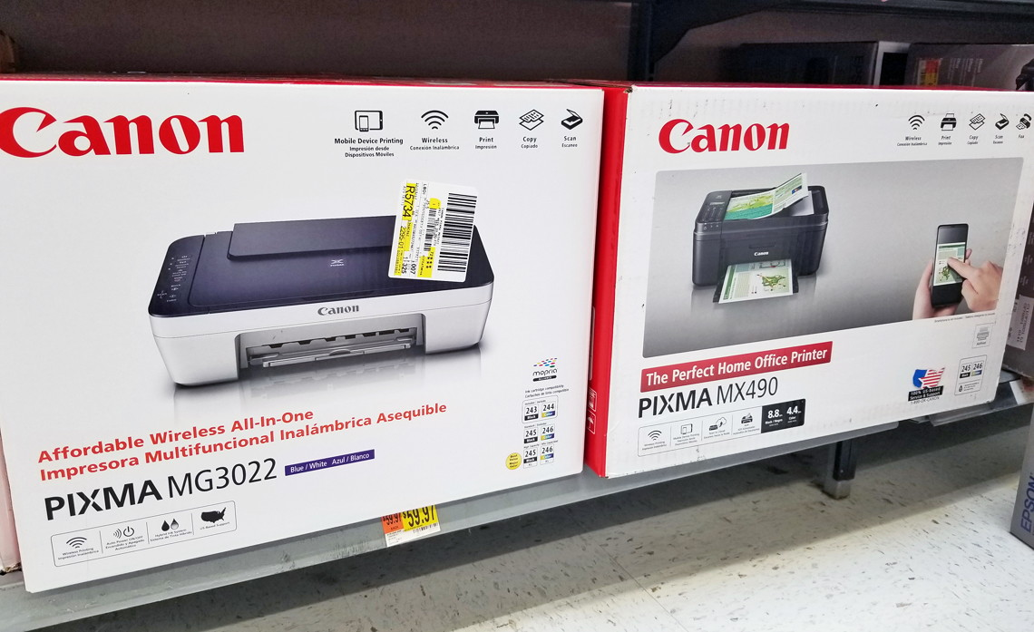 Canon Pixma Wireless All In One Inkjet Printer Only 30 At Walmart