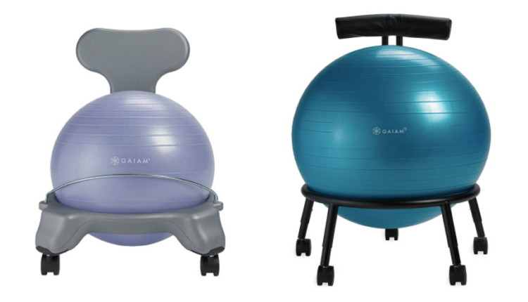 Tremendous Save Up To 50 On Gaiam Balance Ball Chairs Stools Today Caraccident5 Cool Chair Designs And Ideas Caraccident5Info