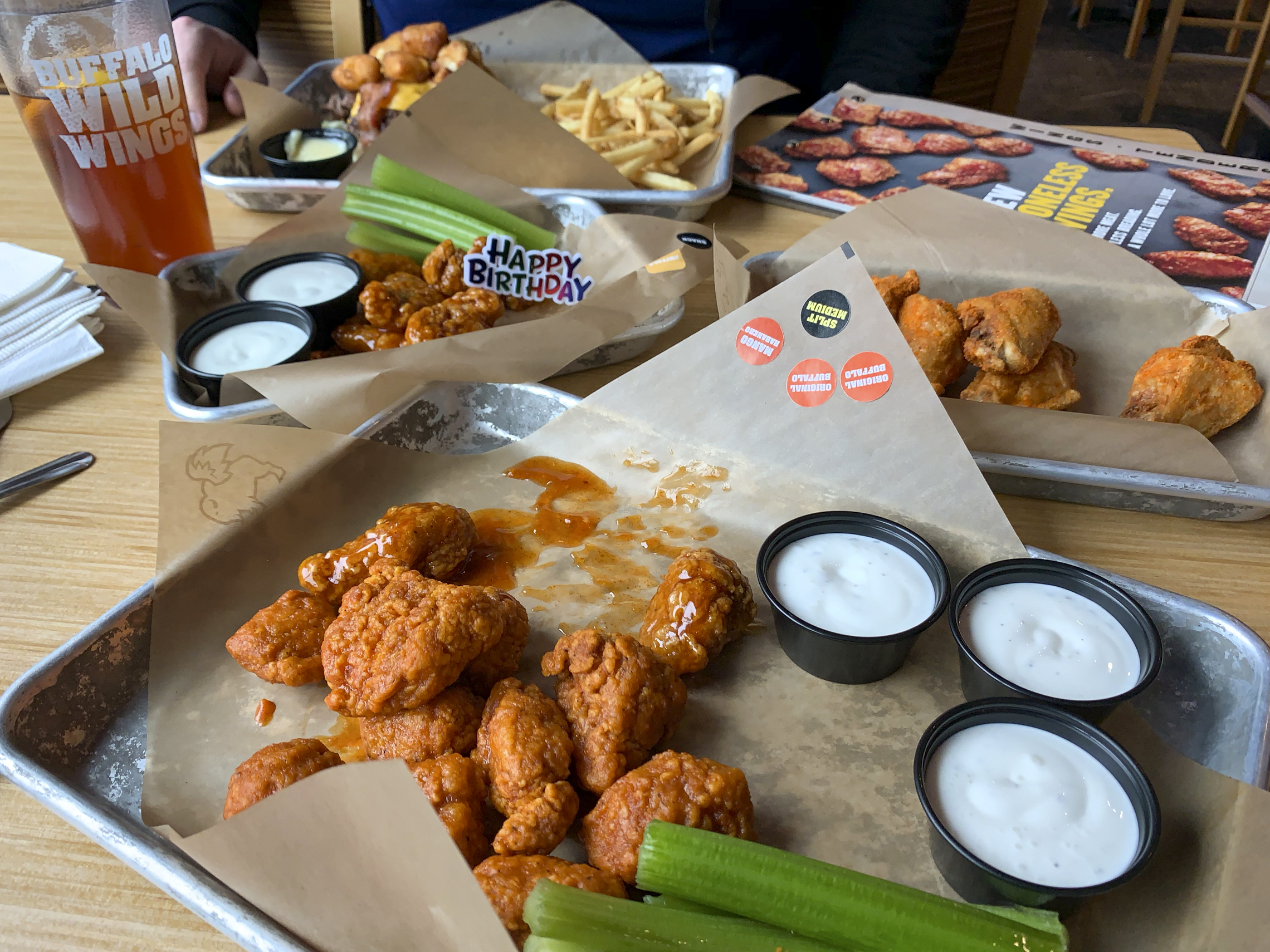 It's just an image of Crazy Buffalo Wild Wings Coupons 2020 Printable