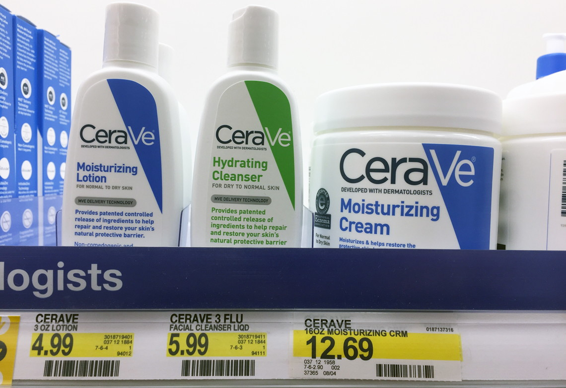 picture relating to Cerave Printable Coupon known as Inventory Up! CeraVe Moisturizing Lotion Cleanser, Simply $0.66