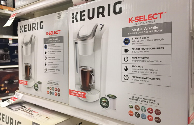 Keurig K-Select Single Serve Coffee Maker, Only $42.74 at Target!