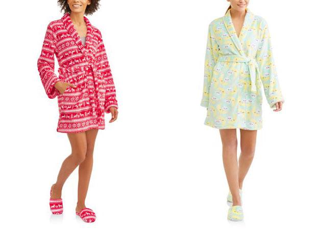 8b85c324a5 Buy 1 Body Candy Luxe Plush Sleepwear Robe   Slipper Set ( reg.  19.98 )   6.00