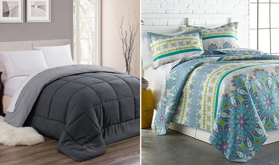 Quilt Sets Amp Down Alternative Comforters 19 99 And Under
