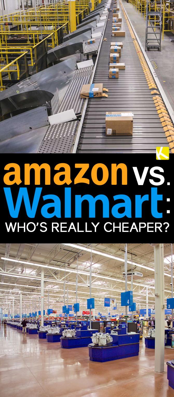 Amazon Vs Walmart Who S Really Cheaper The Krazy