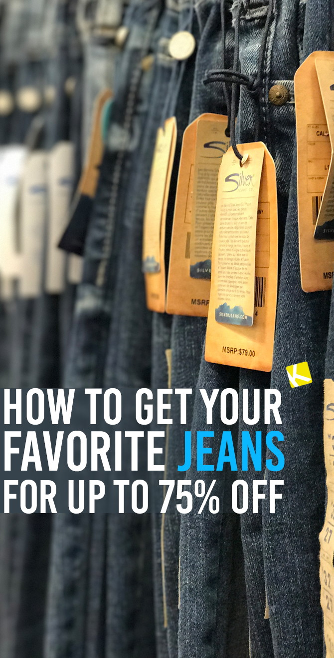 4ab5f2128ae How to Get Your Favorite Jeans for up to 75% Off - The Krazy Coupon Lady