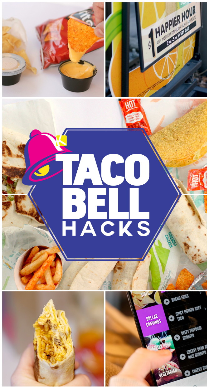 photograph about Taco Bell Printable Menu identified as Each individual Taco Bell Hack Youve At any time Sought after - The Krazy Coupon Woman