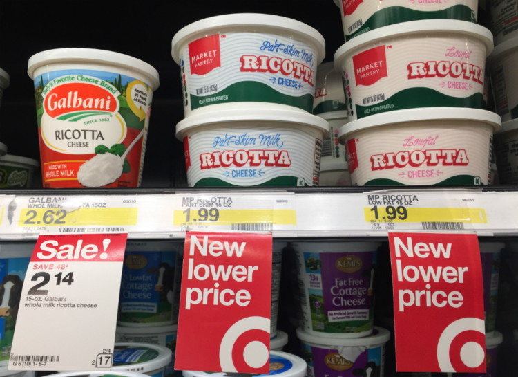 Rare Savings! Galbani Mozzarella & Ricotta Cheese, as Low as $1.17 at Target!