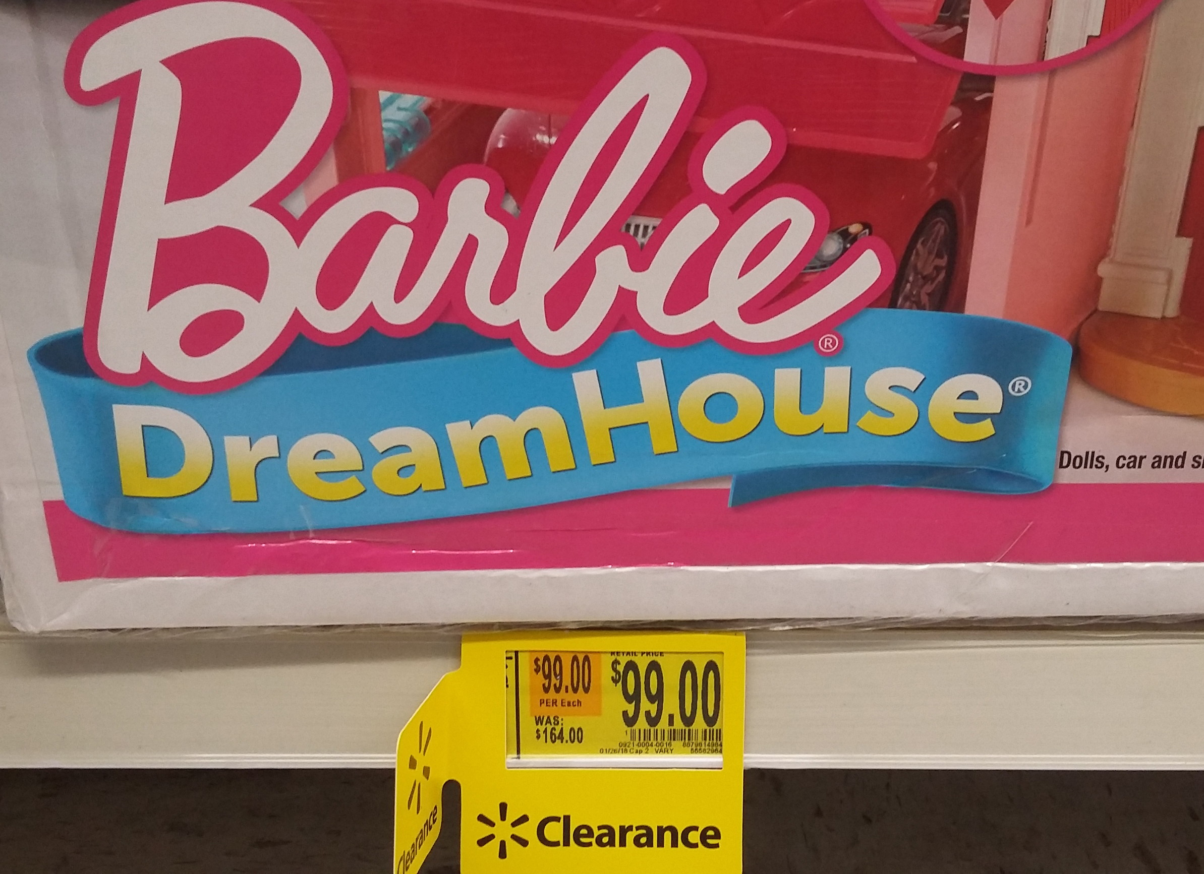 Barbie Dreamhouse Playset w/ 70+ Accessory Pieces, as Low as $99 at Walmart (Reg. $200)!