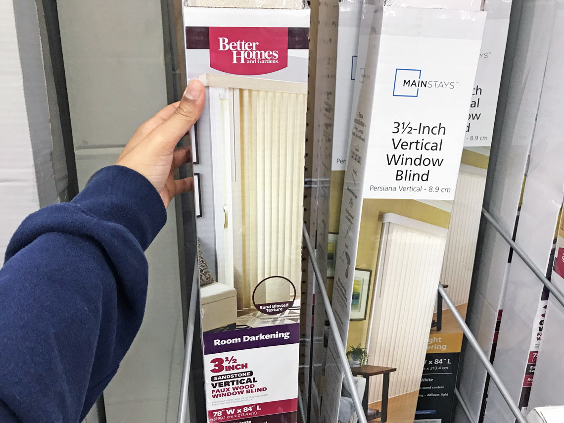 Better Homes And Gardens Privacy Blinds, Only $30.00 At Walmart (Reg.  $50.00)!   The Krazy Coupon Lady