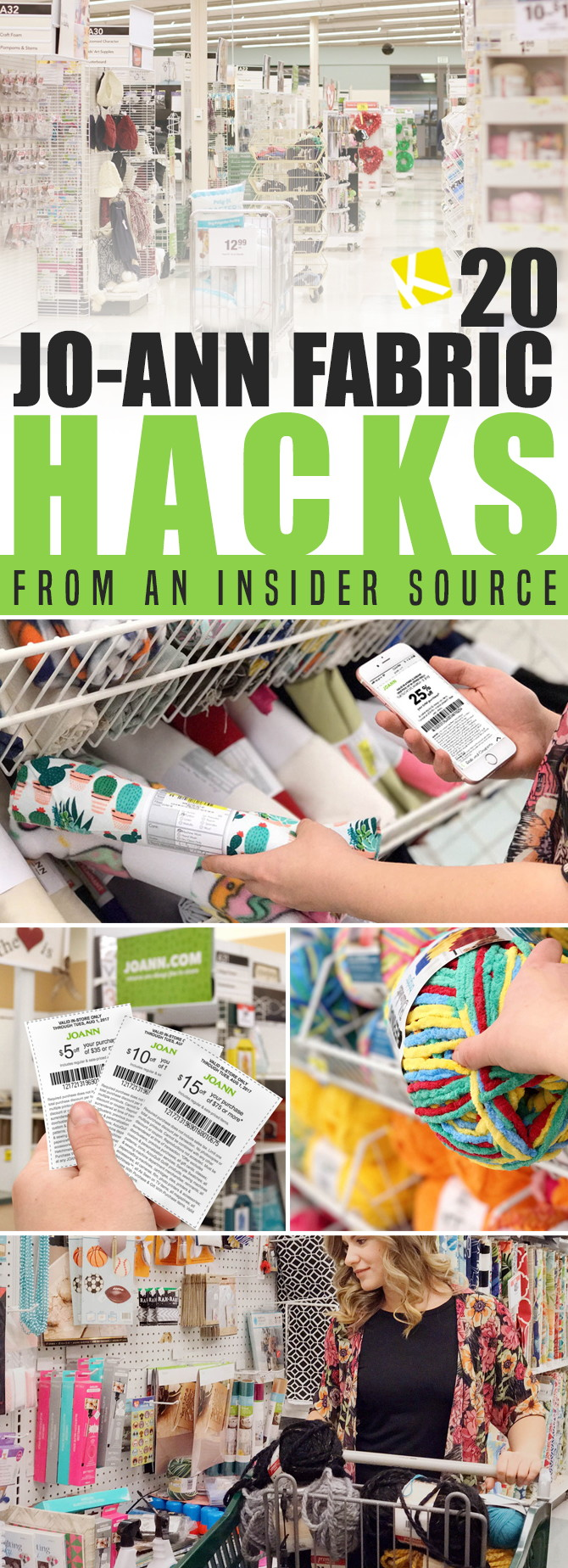JoAnn Fabric Hacks From An Insider Source The Krazy Coupon Lady - Download free invoice template online fabric store coupon