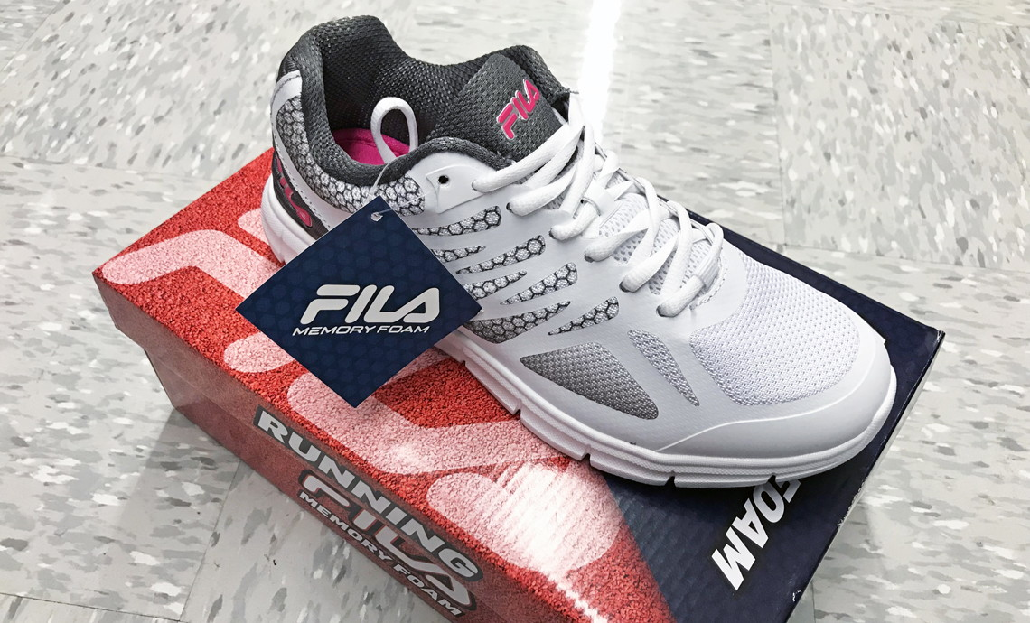 Women's Fila Shoes, as Low as $15 with Kohl's Mystery Code